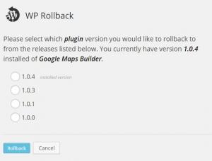WP-Rollback
